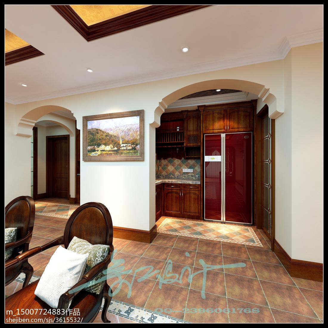 面积134平别墅简约装修设计效果图片大全