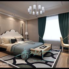 热门美式三居卧室装饰图片欣赏