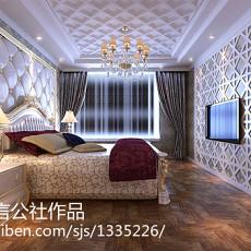 90平米三居卧室欧式装饰图片