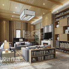 精选面积130平别墅客厅现代实景图片