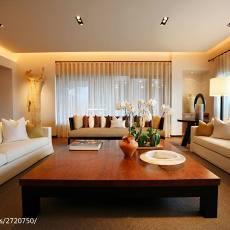 精美109平米三居客厅现代效果图片