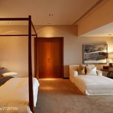 精美面积105平现代三居卧室装修设计效果图