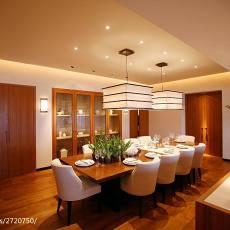 精选面积95平现代三居餐厅效果图片大全