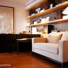 精选105平米三居书房现代装修效果图片欣赏