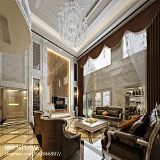 精选面积115平别墅客厅现代装修欣赏图