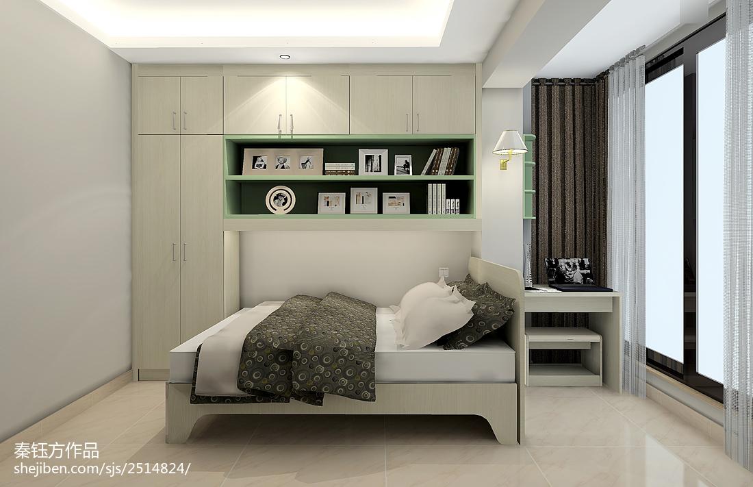 现代风家装卧室效果图