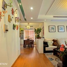 热门面积104平中式三居客厅装修实景图片