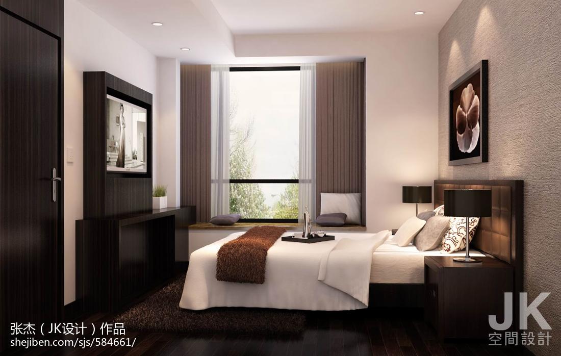 雅致休闲系列卧室装修效果图