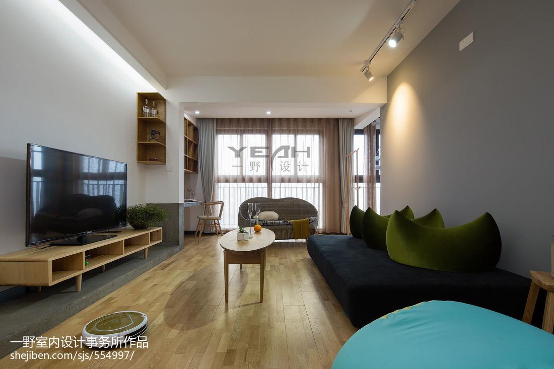 簡約現代風格客廳設計
