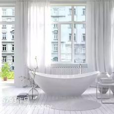201873平米现代小户型卫生间装修效果图片欣赏
