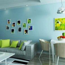 精美75平米现代小户型客厅装修效果图