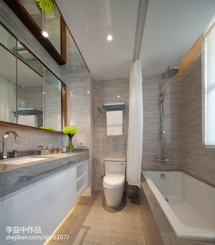 混搭卫浴设计效果图