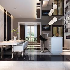 精选92平米三居餐厅现代效果图片