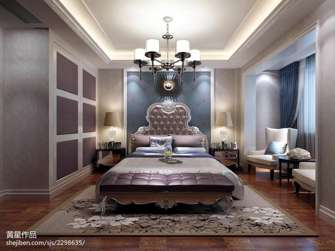 欧式别墅卧室效果图