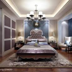 精美135平米欧式别墅卧室欣赏图片