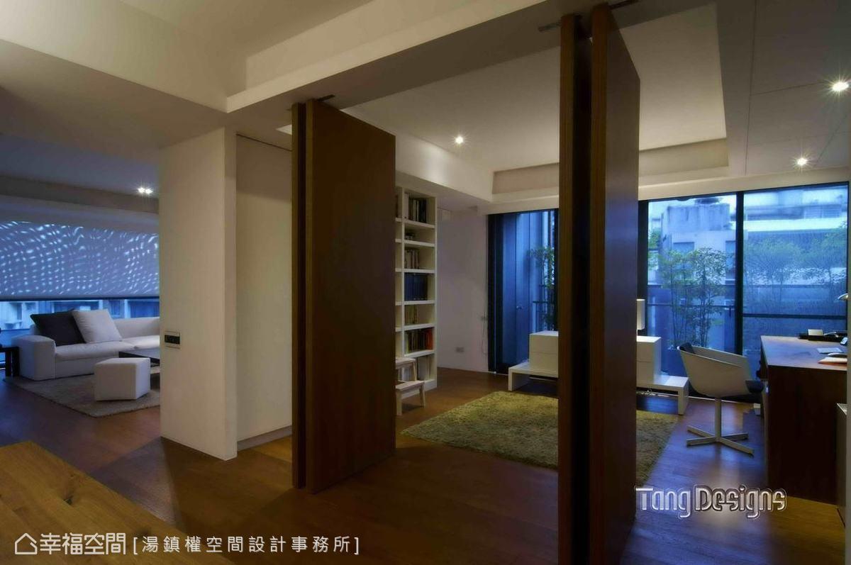 现代绿色家居卧室局部装修