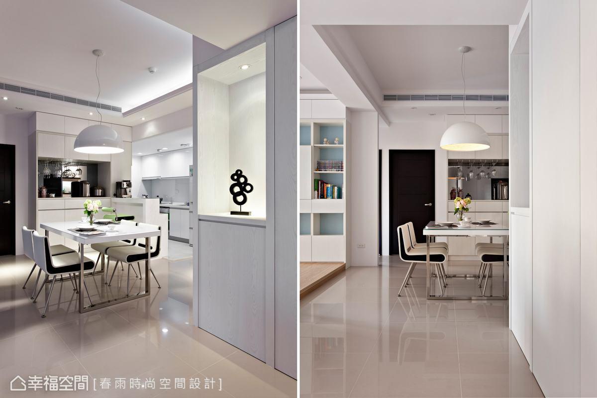 现代时尚简洁厨房装潢案例