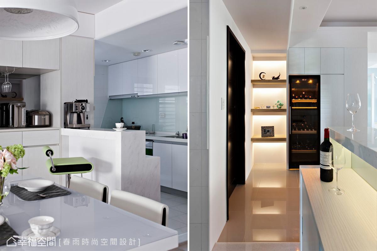 现代家居厨房装潢
