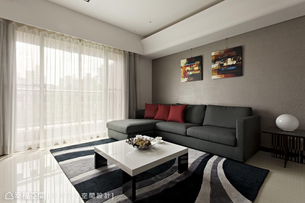 現代簡約風格客廳裝修效果欣賞