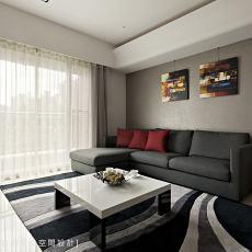 现代简约风格客厅装修效果欣赏