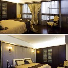 现代简约卧室装修图片大全
