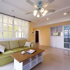 明亮100平美式客厅装修案例