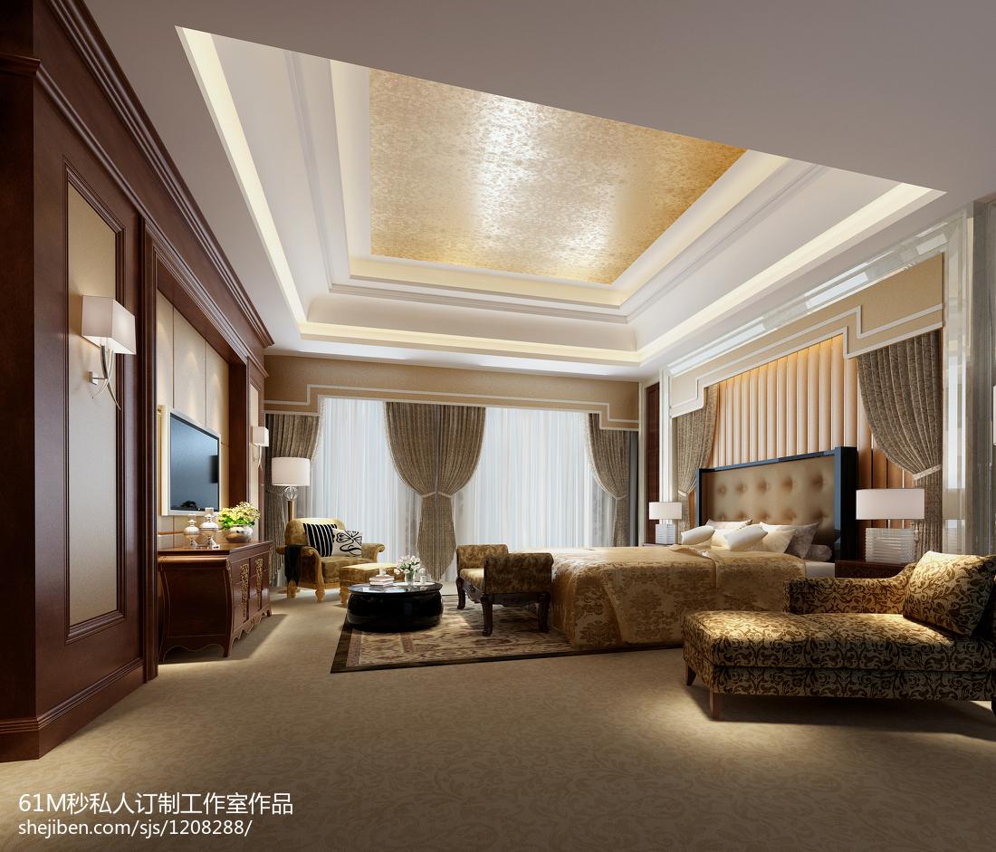 欧式卧室简单