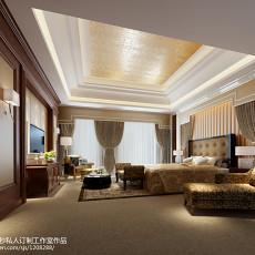 精选118平米四居卧室欧式效果图