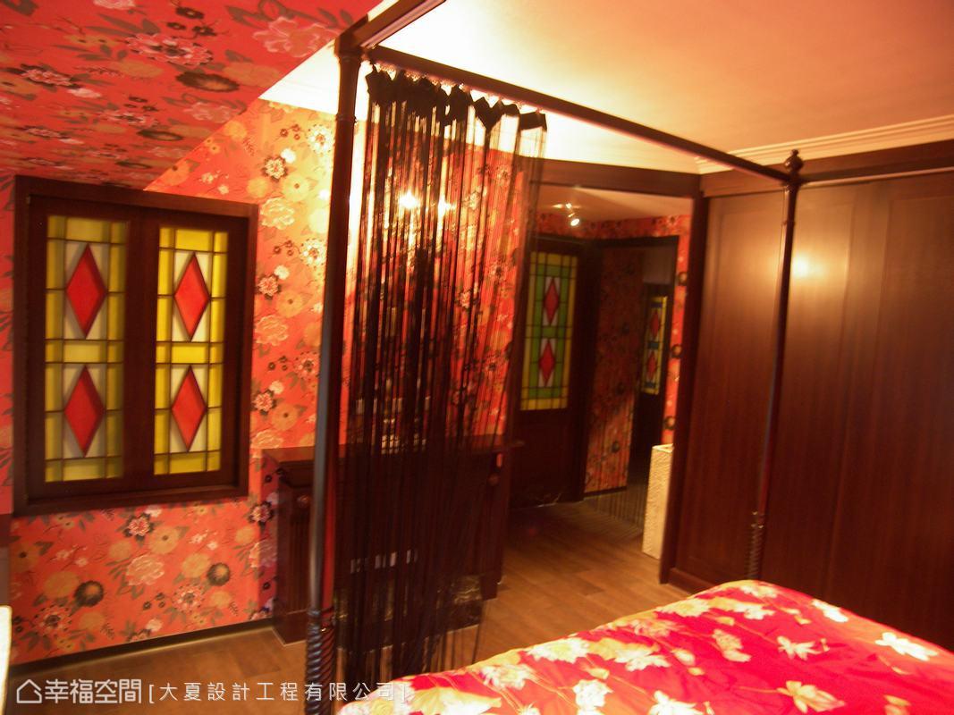 新中式卧室装饰