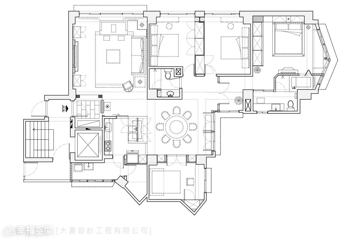 新中式卧室设计大全