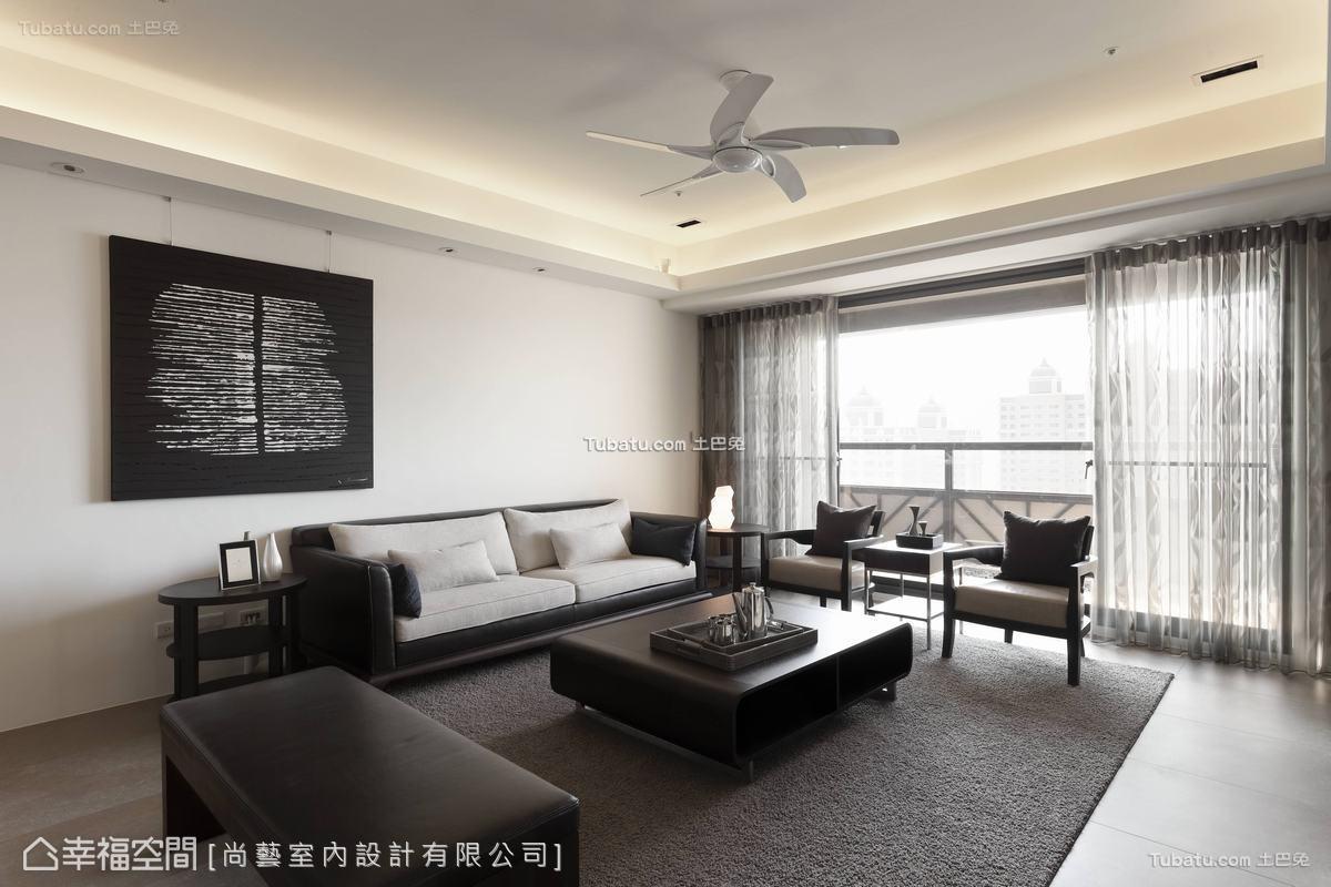 中式禅背景墙效果图