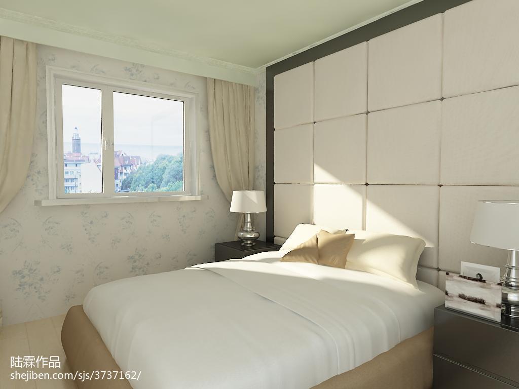 精美面积84平混搭二居卧室装修效果图片