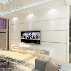 精选74平米二居客厅混搭设计效果图