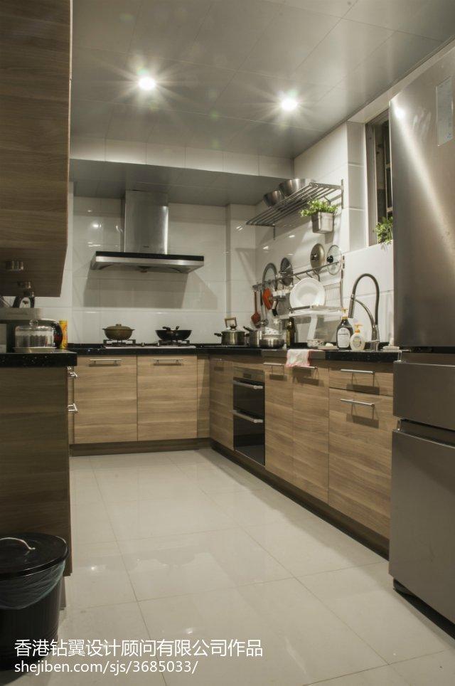 精美现代复式厨房装修效果图片大全