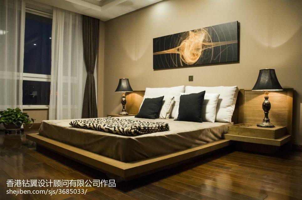 精美113平米现代复式卧室装修图片