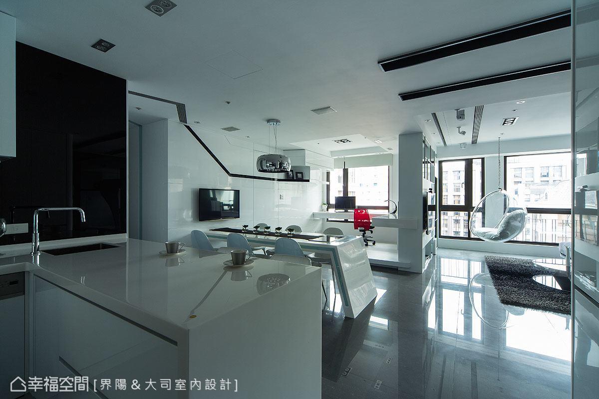 现代简约厨房设计装潢