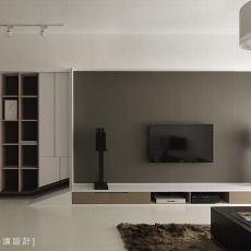 浪漫100平现代客厅装潢图