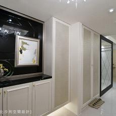 现代金属质感厨房效果图