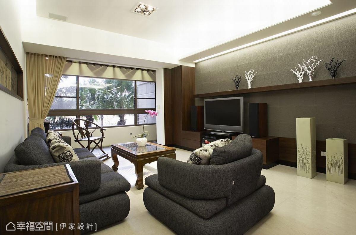 中式家装电视背景墙设计大全