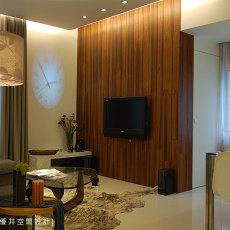 现代简约客厅地砖效果图