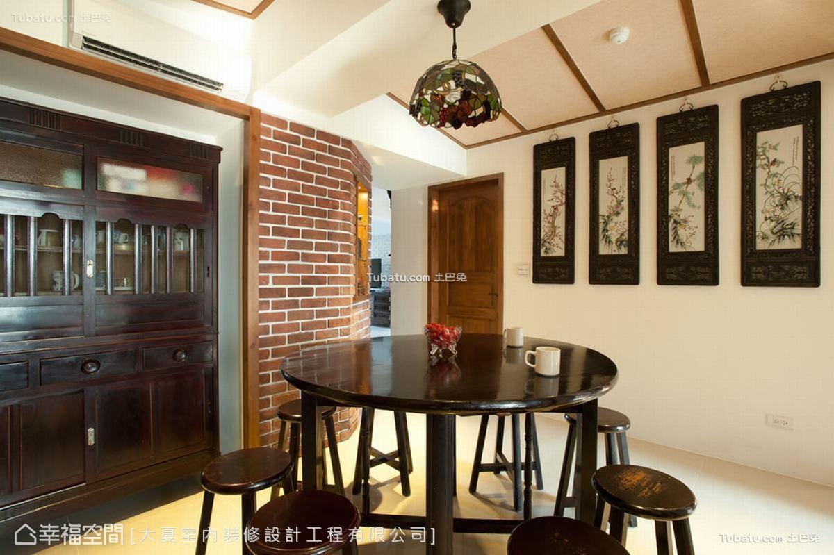 家装中式餐厅效果图