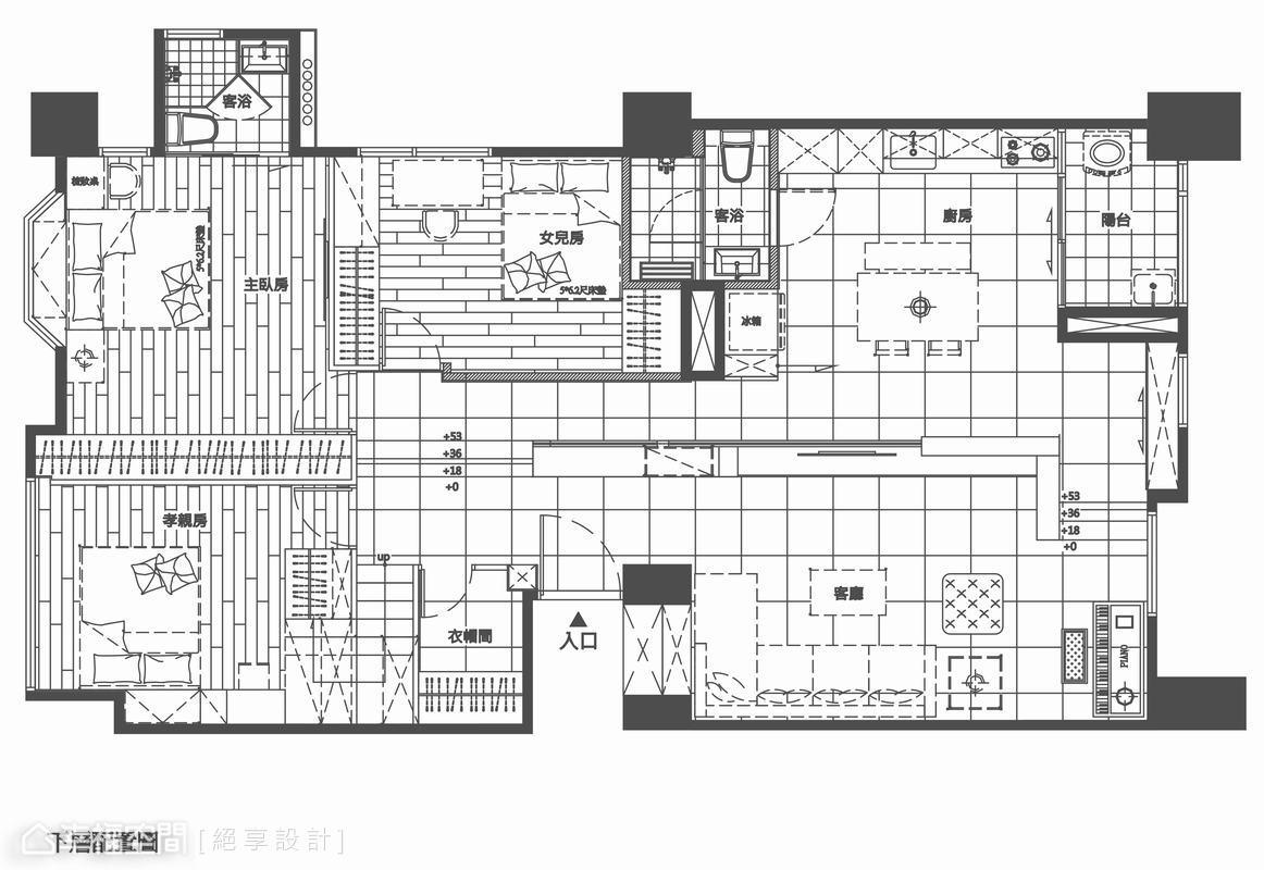 现代个性小别墅楼梯设计图片