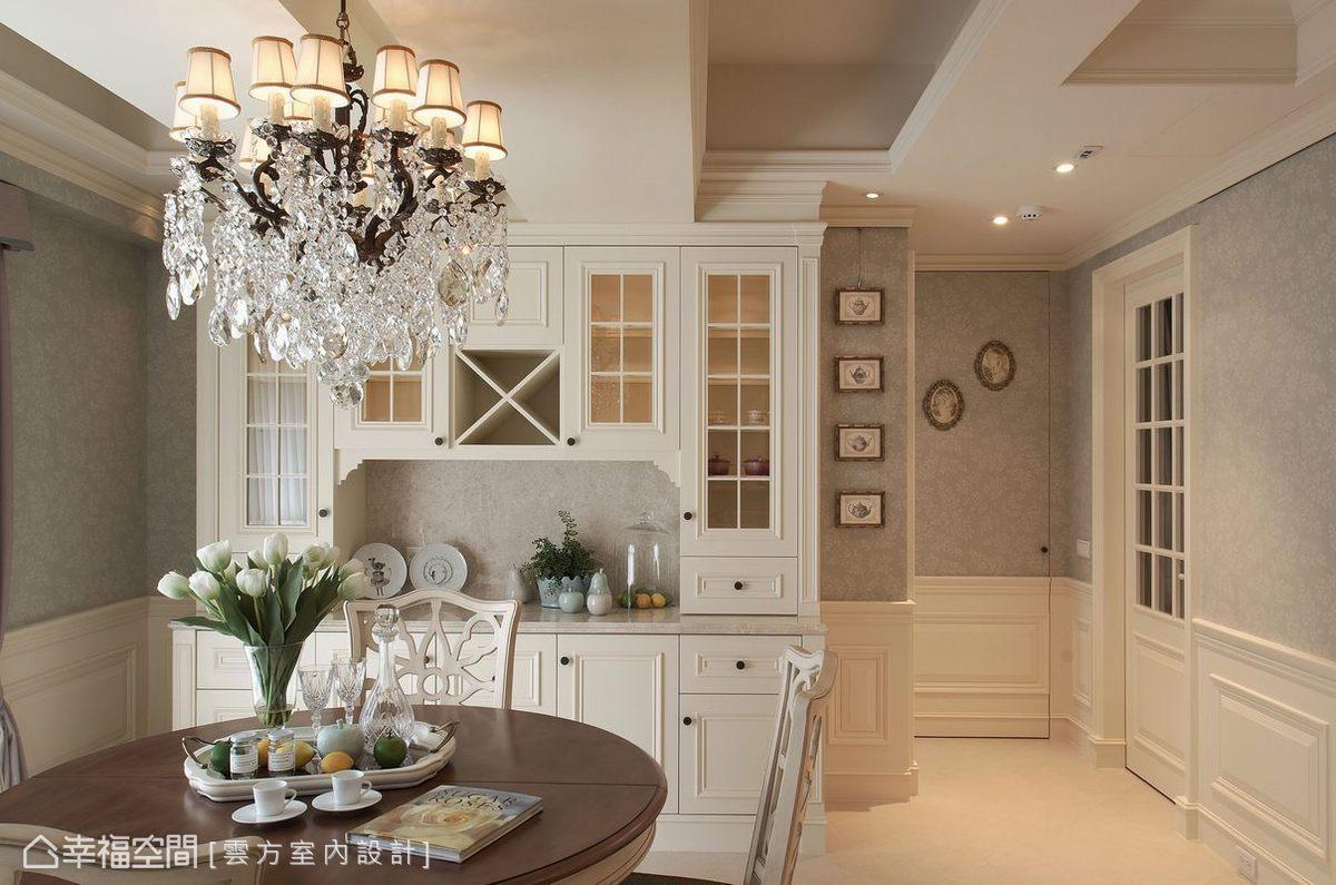 美式田园风格厨房装修效果图欣赏
