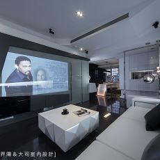 现代风格客厅沙发摆放效果图片