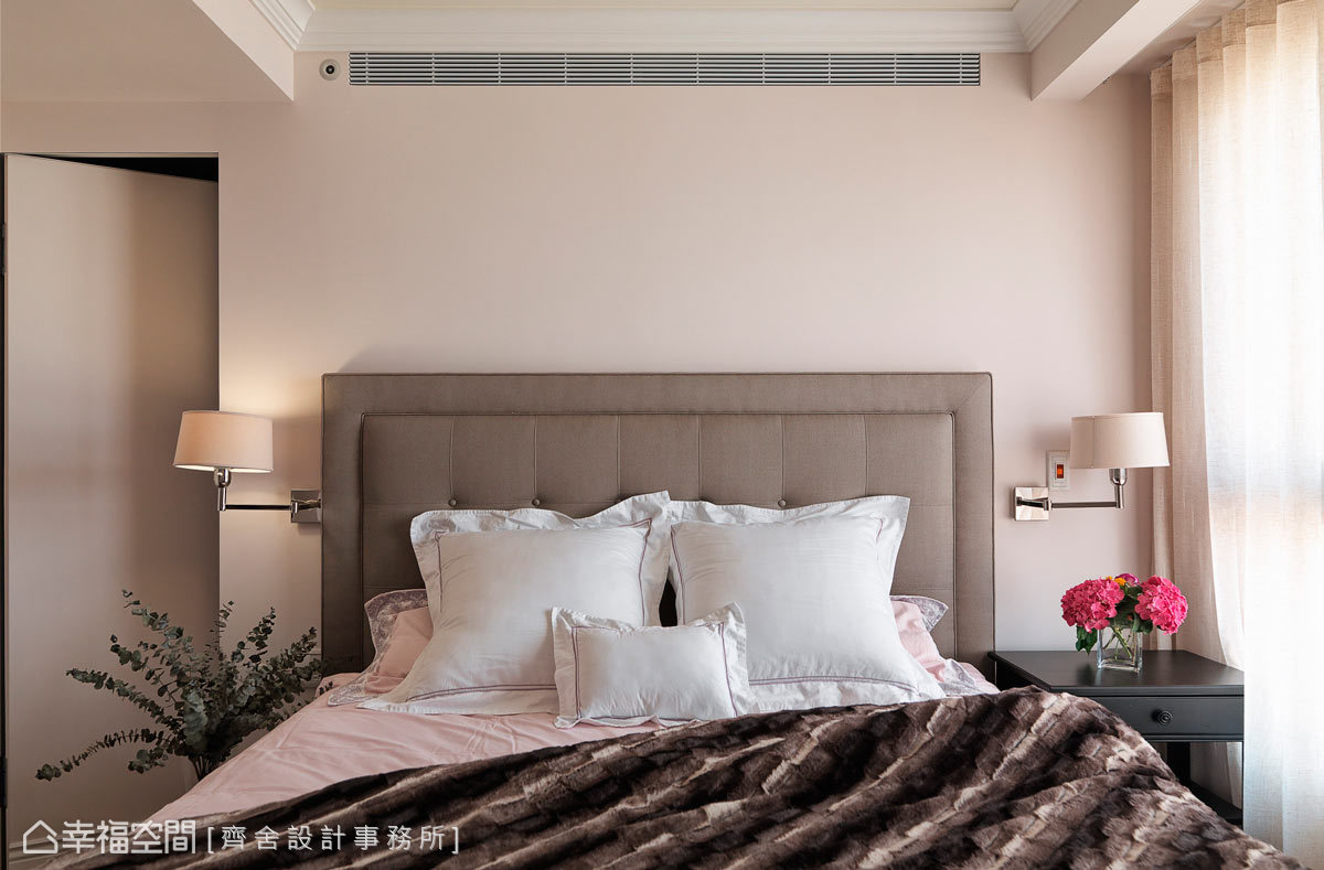美式卧室装饰设计效果图片