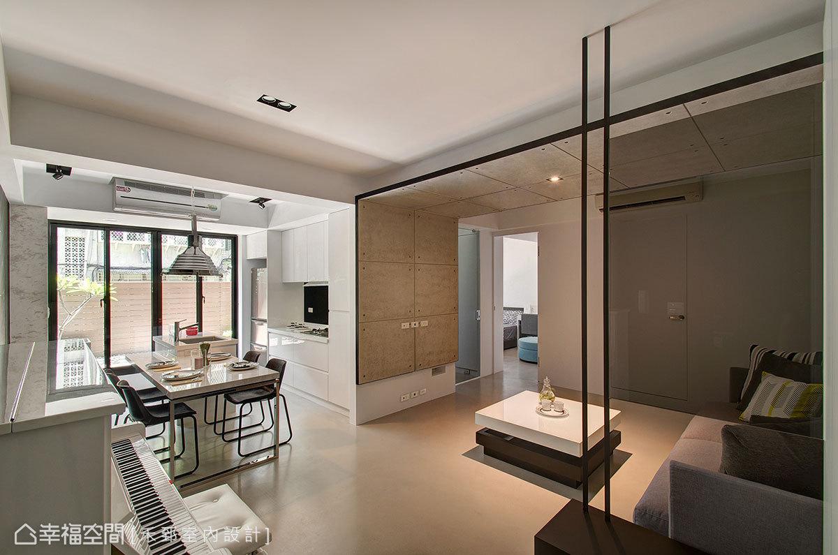 现代小清新客厅布置