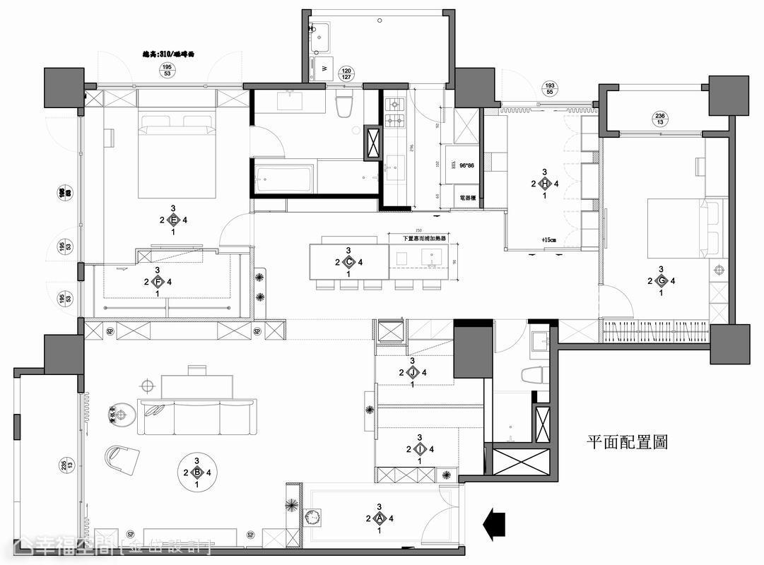 低奢现代风格卧室设计