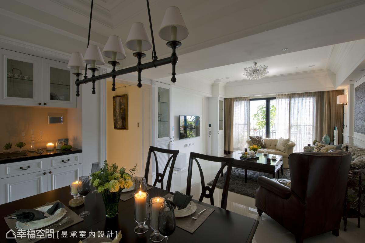 时尚美式客厅装修设计