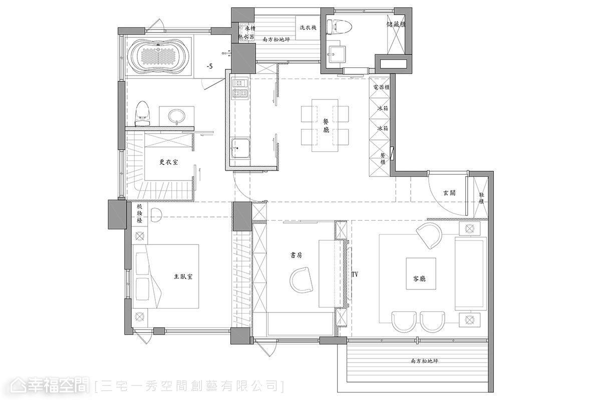 精致新古典挑高客厅装修案例