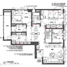 美式客厅地面瓷砖效果图